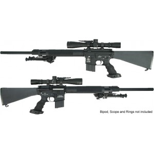 King Arms 24 Inch Free Float Heavy barrel Sniper Rifle - KA-AG-10-L Airsoft Gun