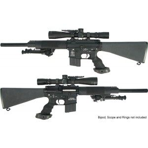 King Arms Free Float Heavy barrel Sniper Rifle (16 Inch) - KA-AG-10-S Airsoft Gun