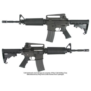 King Arms Colt M4A1 (Licensed Trademarks) - KA-AG-20 Airsoft Gun