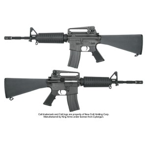 King Arms Colt M4A1 Fixed Stock AEG - KA-AG-28 Airsoft Gun