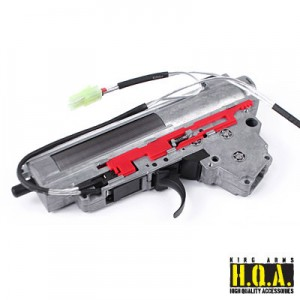 King Arms Ver. III Front Wiring Complete Gearbox for AK Series- M120 - KA-GB-36 Airsoft Toys Gun