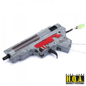 King Arms Ver. II Rear Wiring Complete Gearbox for M4 Series- M120 - KA-GB-28 for Airsoft