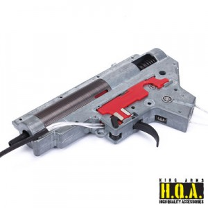 King Arms Ver. II Front Wiring Complete Gearbox for M4 Series- M190 - KA-GB-27 for Airsoft