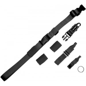 King Arms Tactical One Point Sling - KA-SL-02-BK for Airsoft