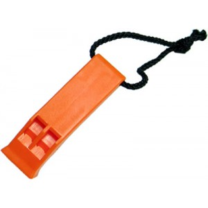King Arms Whistle - Orange - KA-AC-2350-OR for Airsoft