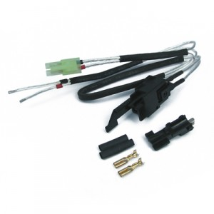 King Arms Silver Cords & Switches Set for Ver.3 Gearbox (Rear Wiring) - KA-BAT-34 for Airsoft Gun
