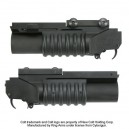 King Arms M203 Shorty Grenade Launcher- QD - KA-CART-03-05 for Airsoft Gun