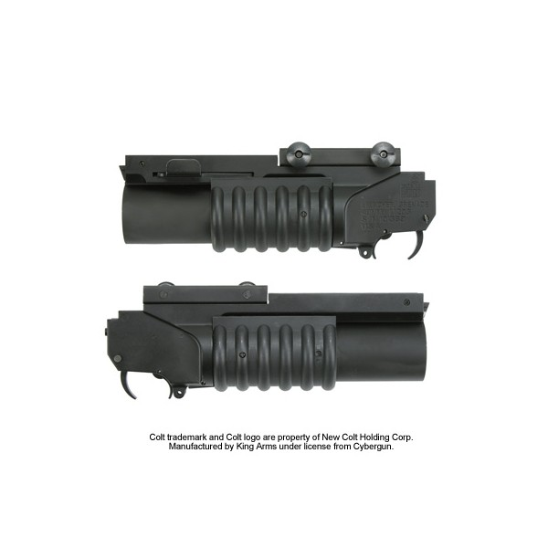 how to make an airsoft grenade launcher attachment
