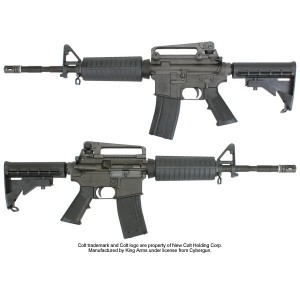 King Arms Colt M4A1 Gas Blowback - KA-GBB-01 for Airsoft Gun