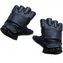 King Arms SWAT Leather Gloves-Half (XL) - KA-Glove-01-H-XL for Airsoft Gun