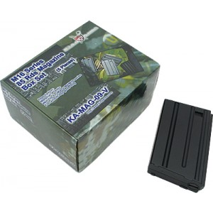 King Arms M16VN 85 Rounds Magazines Box Set (5pcs) - KA-MAG-09-V for Airsoft Gun