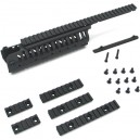 King Arms CASV Handguard-BK/A - KA-RAS-06-A-BK for Airsoft Gun