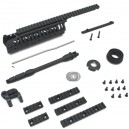 "King Arms CASV Hdgd Set-BK 10.5""/A - KA-RAS-06-A-S-BK for Airsoft Gun"