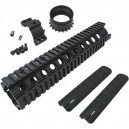"King Arms 10""Free Floating Forearm Rail System - KA-RAS-09 for Airsoft Gun"