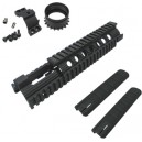 "King Arms 10"" Free Floating Forearm Rail System - CX - KA-RAS-10 for Airsoft Gun"