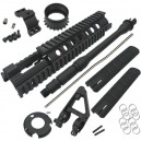 "King Arms 10"" Free Floating Forearm/CX/S - KA-RAS-10-S for Airsoft Gun"
