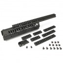 King Arms CASV-M Handguard Set- BK - KA-RAS-23-BK for Airsoft Gun