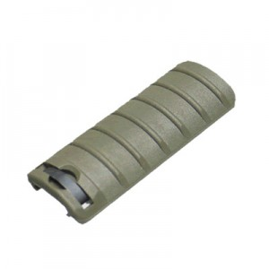King Arms Rail Cover - 6 Ribs/Olive Drab - KA-RC-10-OD for Airsoft Gun