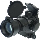 King Arms Red/Green Dot Scope Set with Quick Release Ring Mount? - KA-SCOPE-04 for Airsoft Gun