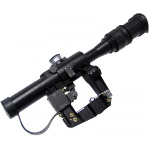 King Arms POSP 4X24T Dragunov SVD Scope - KA-SCOPE-05 for Airsoft Gun