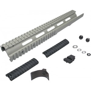 King Arms M14 RAS-SIL (Full) - KA-SK-04-SIL for Airsoft Gun