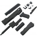 King Arms AK47S Metal Body Deluex Set A - KA-SK-17-DXA-BK for Airsoft Gun