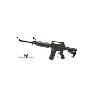 King Arms M4A1 N.F. ABS Body AEG Rifle ( Asian Version) - KA-AG-100 Airsoft Gun