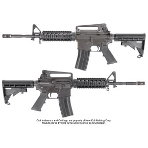 King Arms Colt M4A1 RIS Gas Blowback - KA-GBB-06 Airsoft GBB Air Gun