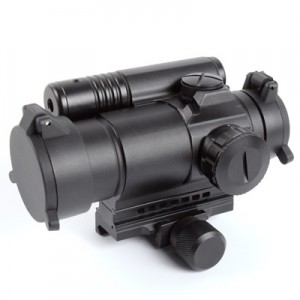 King Arms M4 Red Dot Sight with Laser - KA-SCOPE-24 for Airsoft Gun Spare Parts