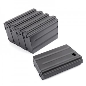King Arms 85 Rounds Magazine for Marui M16/VN series Box Set(Metal) - KA-MAG-11-V Airsoft
