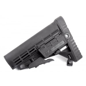 CAA Collapsible Butt Stock (Black) - CAD-STOCK-02-BK