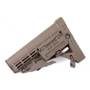 CAA Airsoft Division Collapsible Buttstock - DE - CAD-STOCK-02-DE
