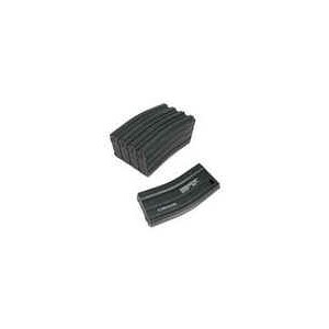 King Arms 68rds Mag for Marui M16 Box Set 5pcs(Metal, BK) KA-MAG-02-V-BK